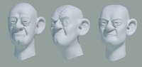 Wu Manchu Henchmen Sculpts WIP 1