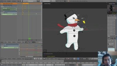 01 - Basics of Animation in Blender