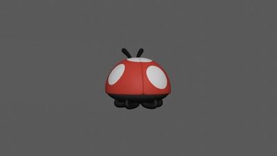 Ladybug Sculpt (Sitting)