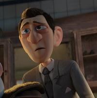 Agent with cut suit