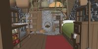 Hut Interior Blocking 1