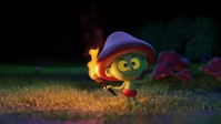 Torch dance test 2 - simulated fire