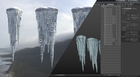 Icicle Assets - WIP