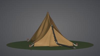 Tent Model (Half Built)