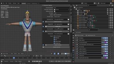 Character Pipeline Addon - Breakdown and Demo