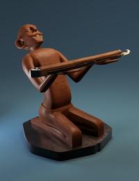 Razor Figurine