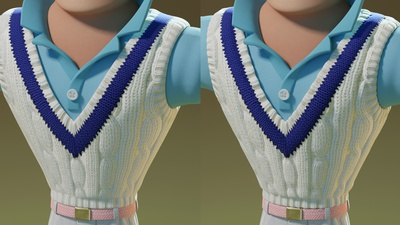 Sweater Shading Displacement