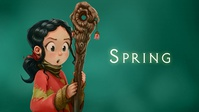 Wallpaper: Spring concept-art