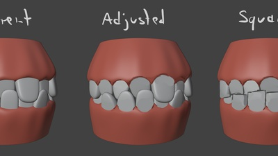 Rex Teeth Paintover