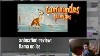 [D] Animation Review: Llama On Ice