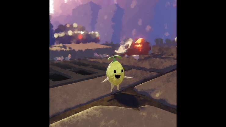 A still from Pip City, part of the Settlers project. Download the working files by clicking the image above.