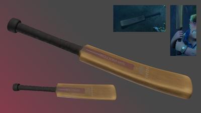 Cricket Bat - Shading