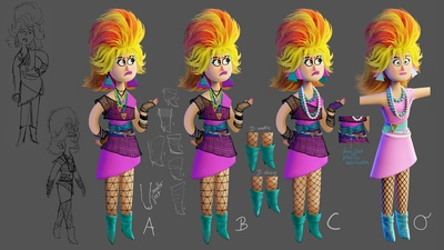 Vicky Outfit Design 2