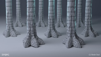 Creature Feet - Overview (Wireframes)