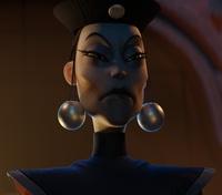 Wu Manchu - face texture detail render