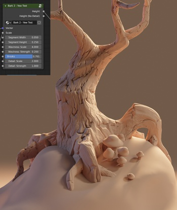 Bark Shader Test 02