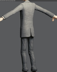 Agent suit texturing