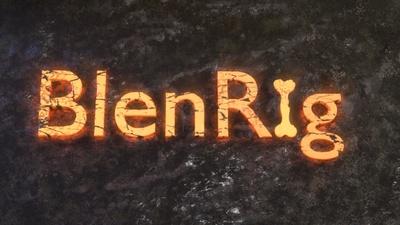 BlenRig public release