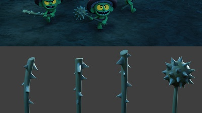 Thorn Weapons Shading