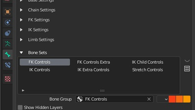 CloudRig: New BoneSet UI and general cleanup