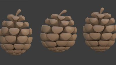 Pine cones models