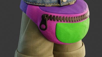 Shading Fannypack/Shorts