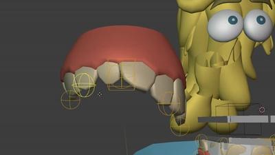 Lattice-like Teeth