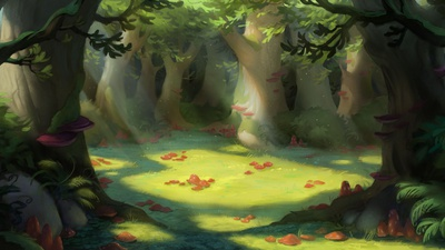 Mushroomgrove final concept art