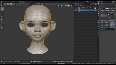 Fast & rough Retopology for the Head