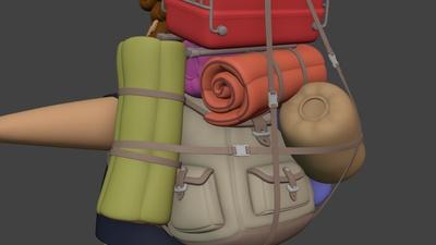 Backpack - Sleeping Bags #1