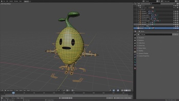 Rigging Pip using Rigify/CloudRig