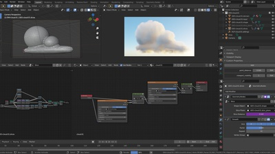Semi-Procedural Cloud Setup - File