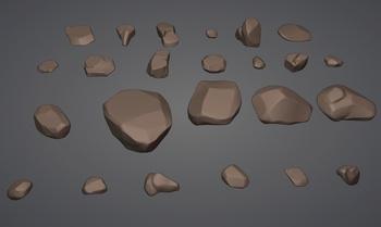 Desert Assets - Rocks