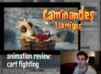 Animation Review: Cart Fighting