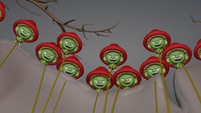 Yew Tree - Initial set dressing (120)