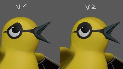 Bird Expression Adjustment