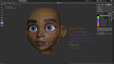 Planning the Facial Retopology