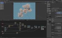 Procedural Clouds - Example Blender File