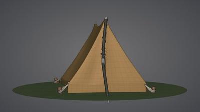 Tent Model (Built)