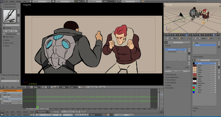 p027_sample_01.blend - Animation by Javier Salvador