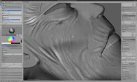 Wu Manchu - face texture detail pass
