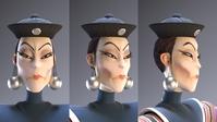 Wu Manchu makeup and hair pass
