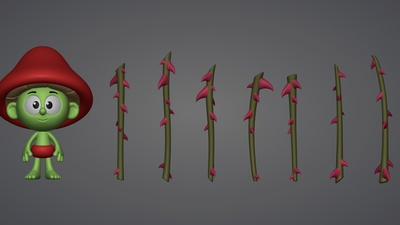 Thorn Staffs Model #1