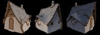 Hut Exterior - Modeling progress