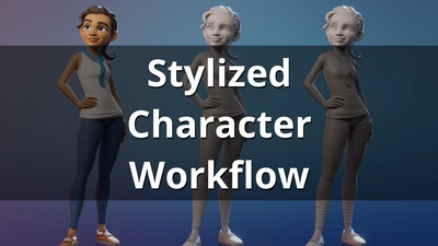 Youtube Version: Stylized Character Workflow in Blender 2.81