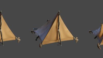 Tent - Shading