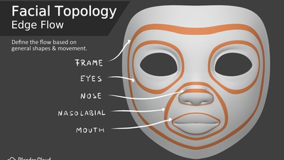 Facial Topology - Edge Flow