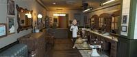 Test render - Barber in the shop