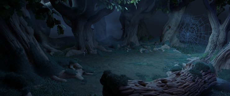 Deakins, Lesnie or Levy? Spot Andy's influences in this recent scene for Sprite Fright.
