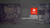 Materials - Examples